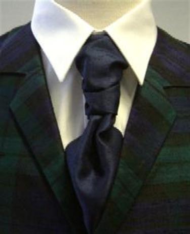 Picture of Tie Ruche Silk, Plain Colours