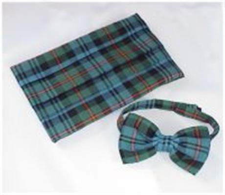 Picture of Cummerbund & Bow-Tie Set DRESS SILK Tartan