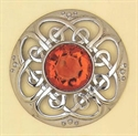 Picture of Plaid Brooch Stone