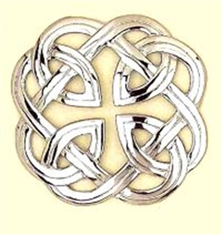 Picture of Plaid Brooch Interlace