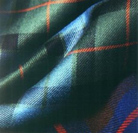 Picture of Special Weaves. Dress Silk Tartan Twill
