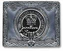 Picture of Buckle for Kilt Belt, with Clan Crest