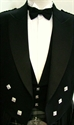 Picture of Bow Tie Black Satin Formal