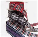 Picture of Ribbons Tartan Polyester 25mm