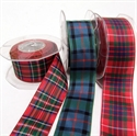 Picture of Ribbons Tartan Polyester 38mm