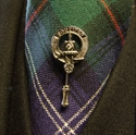 Picture of Clan Badge Tie & Lapel Pin