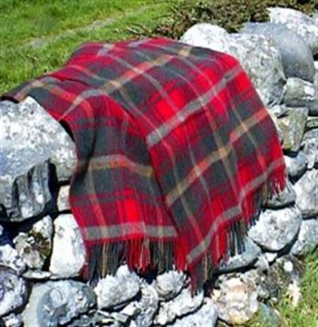 Picture of Luxury Travel Rug, Tartan Lambswool