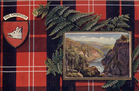 Picture of Clan Table Mats - Chisholm