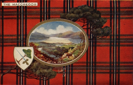 Picture of Clan Table Mats - MacGregor