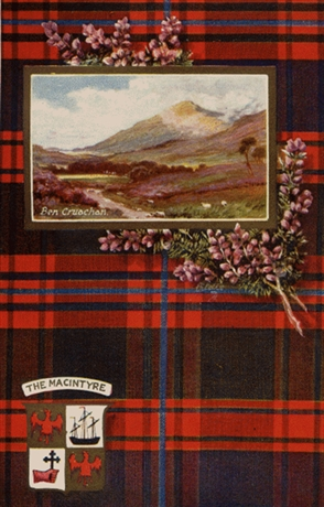 Picture of Clan Table Mats - MacIntyre