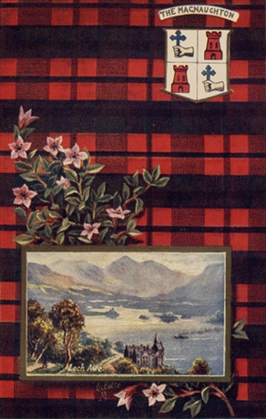 Picture of Clan Table Mats - MacNaughton