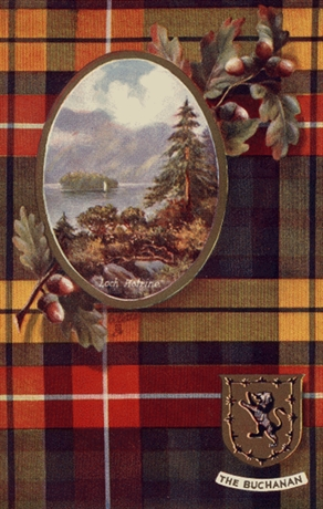 Picture of Clan Table Mats - Buchanan