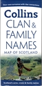 Picture of Clan & Family Names Map of Scotland