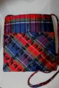 Picture of Chinese Scottish Tartan - Beaded Silk Handbag
