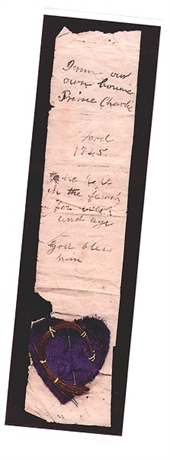 Picture of Bonnie Prince Charlie Bookmark