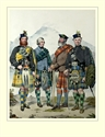 Picture of M22 - John MacLachlan, Hugh Grahame, James MacFarlane, Angus Colquhoun.