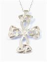 Picture of Pendant Sterling Silver Carolingian Cross