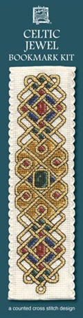 Picture of Cross Stitch Bookmark  Kit - Celtic Jewel
