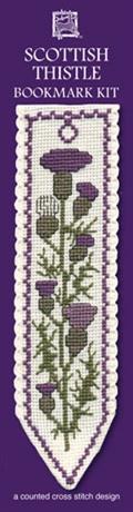 Picture of Cross Stitch Bookmark  Kit - Scottish Thistle