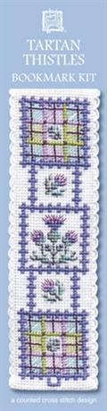 Picture of Cross Stitch Bookmark  Kit - Tartan Thistle