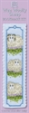 Picture of Cross Stitch Bookmark  Kit - Wee Wooly Sheep