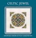 Picture of Cross Stitch Coaster Kit - Celtic Jewel