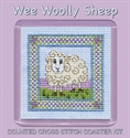 Picture of Cross Stitch Coaster Kit - Wee Sheep