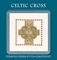 Picture of Cross Stitch Coaster Kit - Celtic Cross