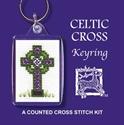 Picture of Cross Stitch Keyring Kit - Celtic Cross