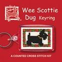Picture of Cross Stitch Keyring Kit - Scottie Dog