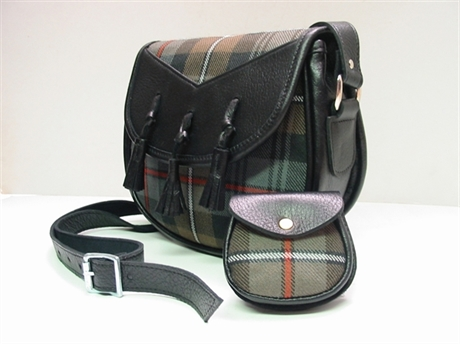 Picture of Lismore Style Tartan Handbag, Tartan Purse (in your Tartan)