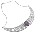 Picture of Necklet Sterling Silver with Amethyst