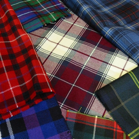 Picture of Weave Your Own Tartan Design - Special Weave - HEAVYWEIGHT 360-3S 15oz Double Width