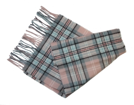 Picture of Diana Memorial Tartan / Diana Rose Tartan - Scarf, Luxury Lambswool