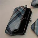 Picture of Diana Memorial Tartan / Diana Rose Tartan - Medium Double Pocket Purse