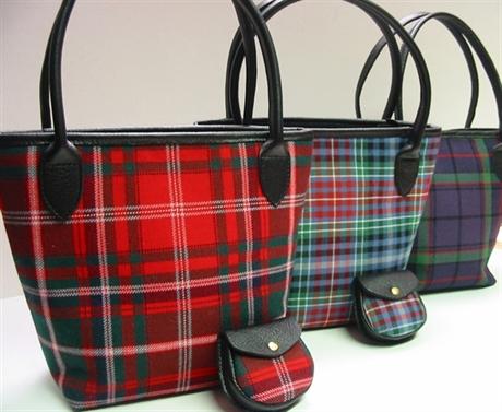 Picture of Iona Bucket Style Tartan Handbag, Tartan Purse (In Your Tartan)