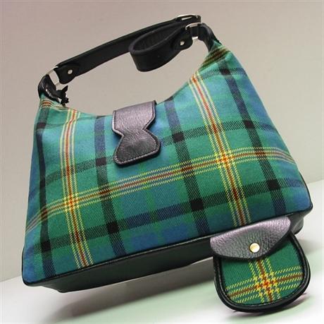 Picture of Islay Shoulder Style Tartan Handbag, Tartan Purse (In Your Tartan)