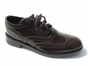 Picture of Ghillie Brogues Dark Brown Shoes