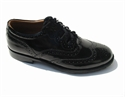 Picture of Ghillie Brogues Black Shoes