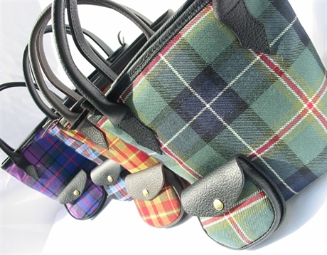 Picture of Mini Iona Bucket Style Tartan Handbag, Tartan Purse (In Your Tartan)