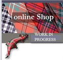 Picture of Michigan Tartan Bow Tie in Lightweight Wool Tartan