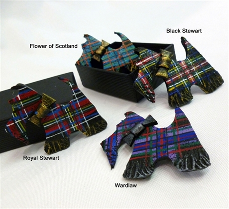 Picture of Brooch Scottie Dog