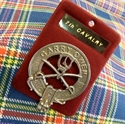 Picture of 7th Cavalry Tartan (Seventh Cavalry) - Hat or Cap Badge