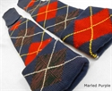 Picture of 7th Cavalry Tartan (Seventh Cavalry) -  Kilt Hose, Kilt socks, Merino Wool.