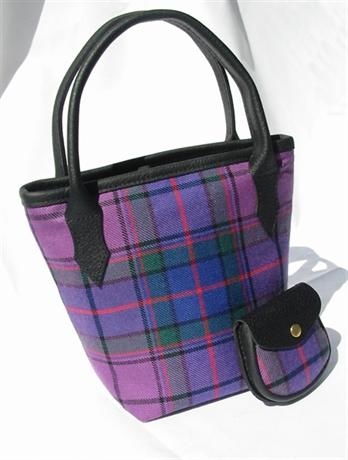 Picture of Wardlaw Tartan Handbag - Mini Iona Bucket Style Handbag