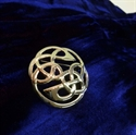 Picture of Mini Plaid Brooch Lindisfarne