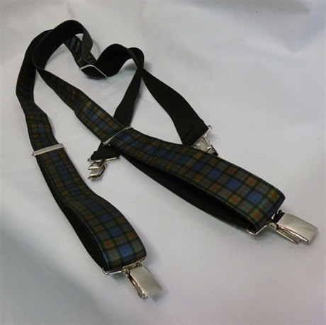 Picture of Tartan Braces In ANY Tartan!