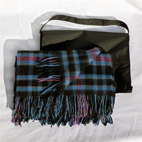 Picture of Lambswool Rug in Corporate Tartans