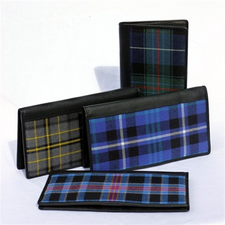 Picture of Travel Wallets in Corporate Tartans