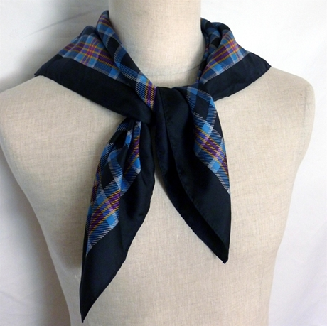 Picture of Head Squares, Scarves in Corporate Tartans